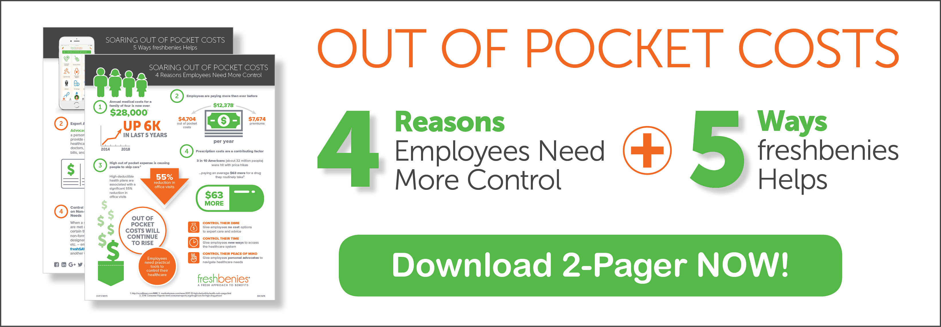 5 Ways freshbenies Helps Employees with Out of Pocket costs
