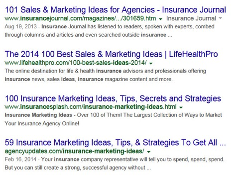 361 Marketing Ideas For Your Insurance Agency