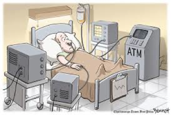 Patient connected to ATM - Using a Health Advocate Can Save You Money